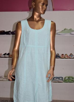 Льняное платье hanna