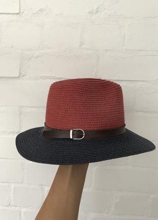 Стильная пляжная шляпа