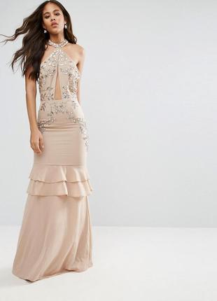 Розкішна сукня вечірня