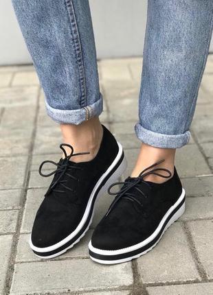 Туфли со шнуровкой, оксфорды размеры 37, 40, 41