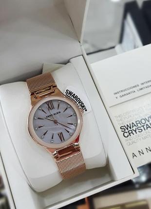 Anne klein женские часы ak/2418bmrg