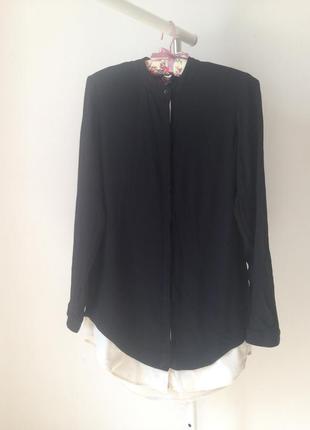 Оригинальная удлиненная блуза/рубашка marc aurel рр 36