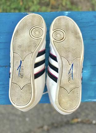 Кроссовки adidas neo кожаные