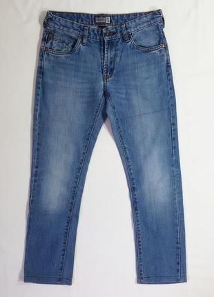 Брендовые женские бриджи джинсы укороченные here&there