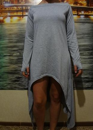 Классное длинное пляжное платье размер s