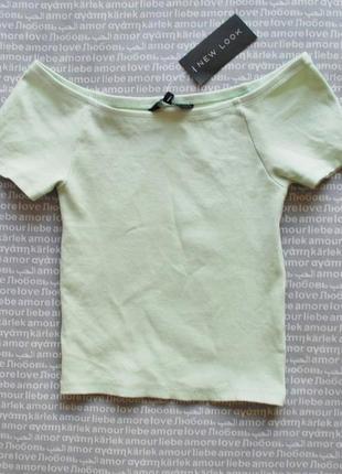 Топ в рубчик футболка с открытыми плечами спущенные плечи купить цена