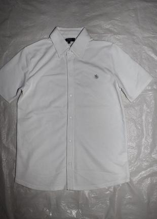 Рубашка трикотажная на кнопках polo