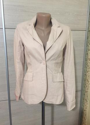 Льняной пиджак от top secret