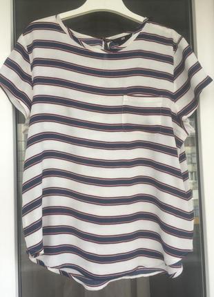 H&m струящаяся блуза из вискозы размер с