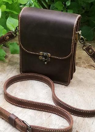 2be3294d77ac Портмоне мужское темно- коричневое Ручная Работа, цена - 340 грн ...
