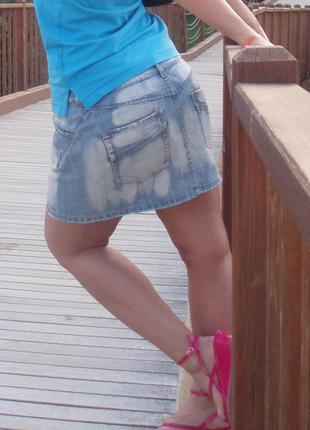 Джинсовая юбка castro