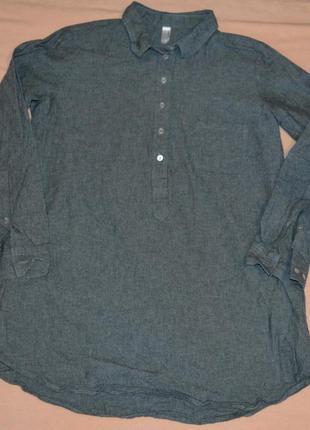 Женская рубашка american apparel
