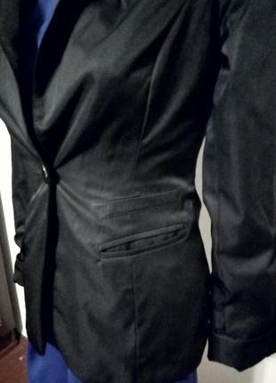 Новорічний розпродаж  класичний чорний піджак