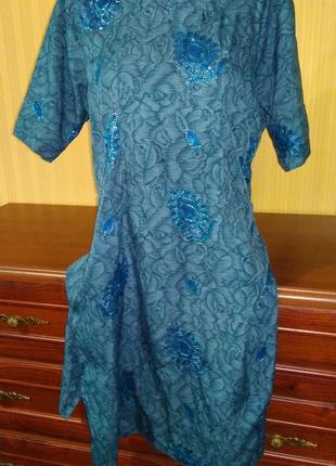 Платье туника в восточном стиле