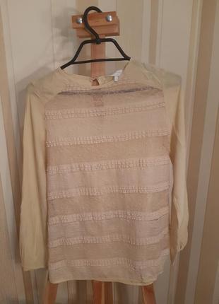 Блуза із мереживом