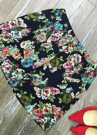 Очень красивая шелковая юбка