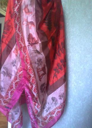 Шелковый шарф*платок*палантин* италия