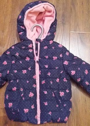 Демісезонна курточка на 9-12 міс.  mothercare