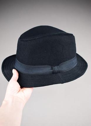 Красивая черная шляпа капелюх от h&m