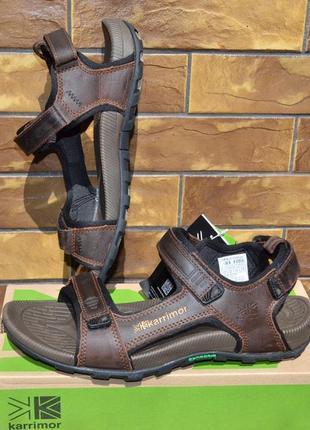 Кожаные сандалии karrimor из англии. 41-45 размеры
