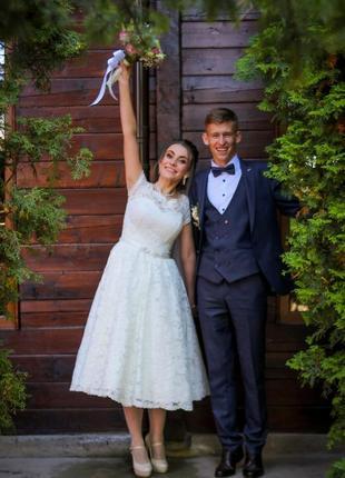 Свадебное ажурное платье,весільна сукня,вечірне плаття