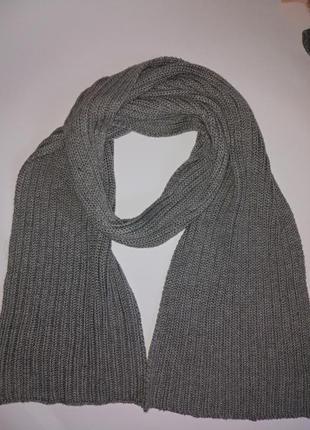 Большой теплый вязаный шарф,унисекс,john lewis