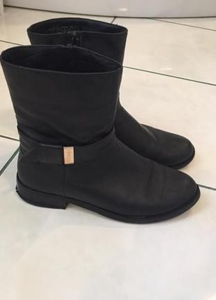 Кожаные ботинки ( осень - весна )