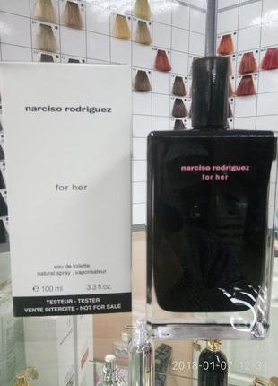 Narciso rodrigues for her 100ml. tester!