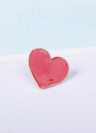 Патч металлический сердце