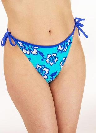 Плавки для купальника - низ купальника голубые maru