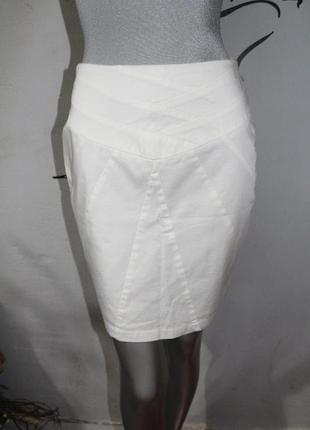 Белая миди юбка orsay
