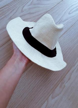 Шляпа пляжная летняя