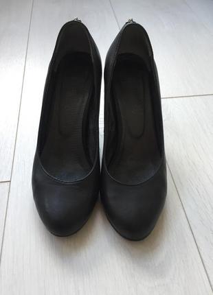 Кожаные туфли на танкетке  🇮🇹