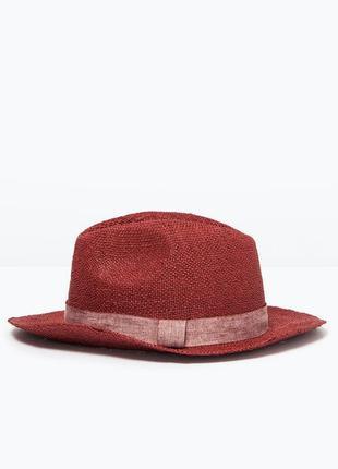 Летняя шляпа zara
