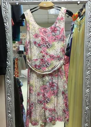Платье сарафан вискоза h&m