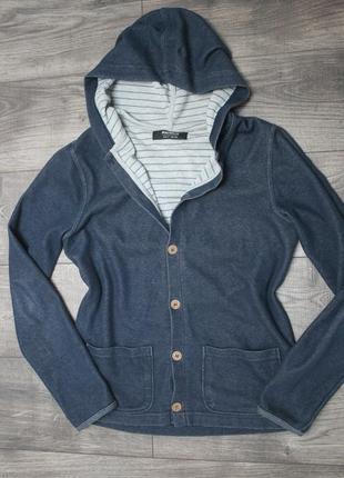 Кардиган капюшонка пиджак - s/m