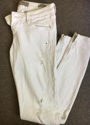 Белые джинсы скинни guess, оригинал !