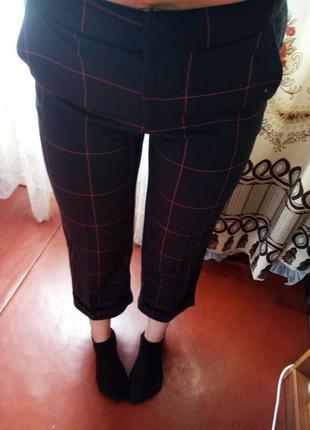 Новые стильные брюки кюлоты
