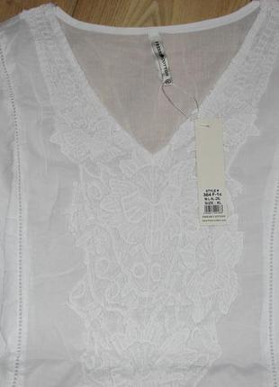 Шикарная белая туника тм fresh cotton новая коллекция 20183