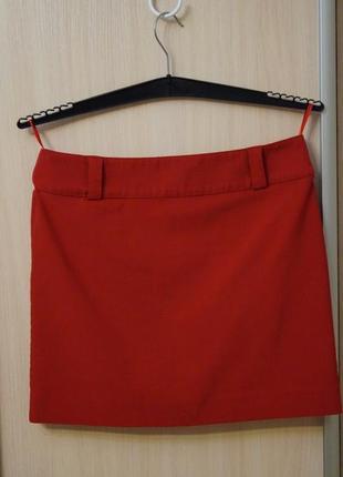 Красная юбка р 46 м