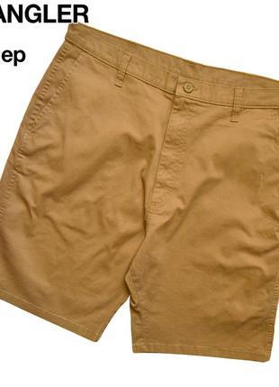 Wrangler 36 / песочные чино шорты, сбоку на штанине есть карман