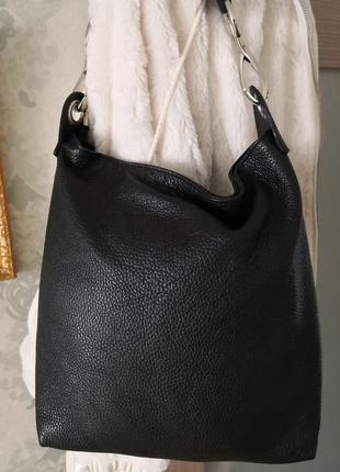 Стильная кожаная сумка borse in pelle