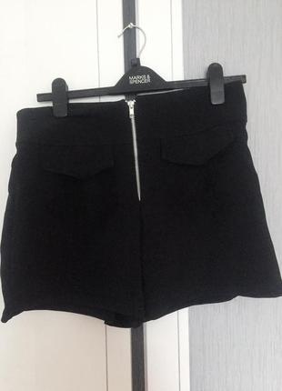 Фирменная юбка -шорты
