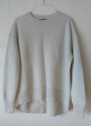 Кашемировый пуловер свитер zara