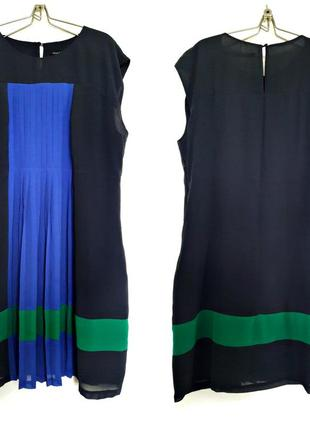 Воздушное платье с гофре