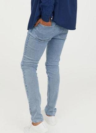 Оригинальные джинсы от бренда h&m разм. 32-32