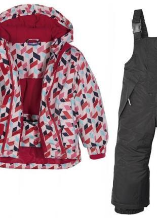 Лыжный термо-костюм, термо-куртка, термо-штаны, комбинезон lupilu, германия, р.86-92