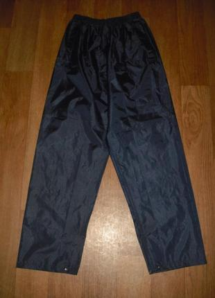 Мужские непромокаемые штаны-дождевик regatta размер s
