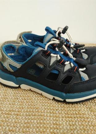 Кожаные летние кроссовки clarks,размер 28-й...