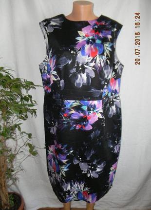 Новое натуральное платье большого размера f&f